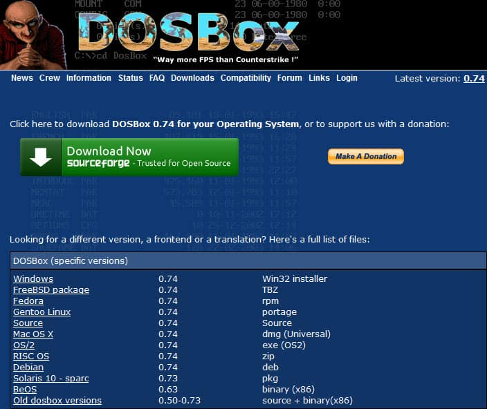 What is DOSBox and How to Use - DOSBox Tutorial - AllGamesAtoZ