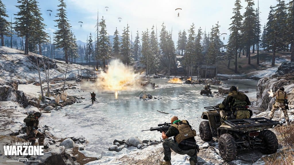 Call of Duty Warzone - One of Best Free PC Games of 2020